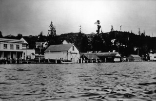 Lake Washington shoreline at Leschi, 1903