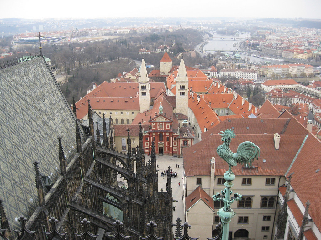 praha (from the tower