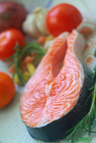 Dukan diet: Attack, Cruise, Consolidation, Stabilisation, salmon