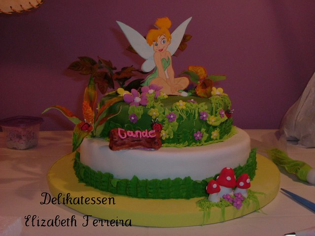 Torta de Tinkerbell (Campanita) | Flickr - Photo Sharing!