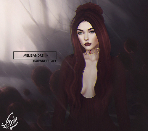 Melisandre Hair & Necklace @ Salem