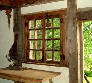 Acadian Cottage Window