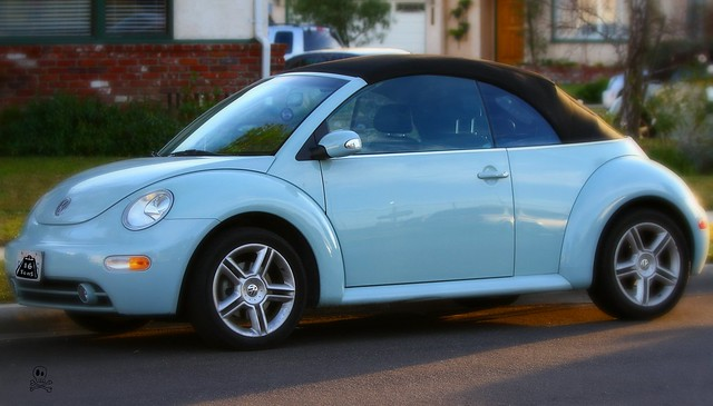 Heaven Blue Metallic Volkswagen Beetle Convertible 2010-2011 | Flickr - Photo Sharing!