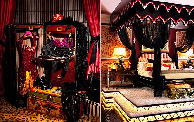 christina aguilera master bedroom costume closet bed