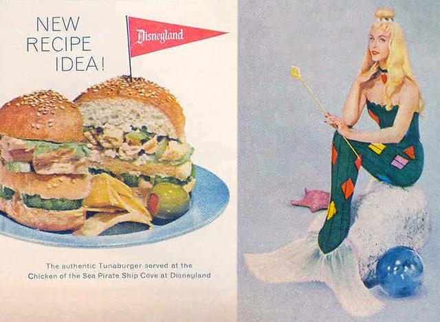 Chicken of the Sea TUNA BURGER!  1959
