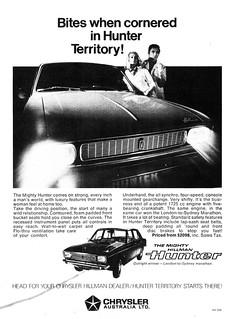 1969 Hillman Hunter ad