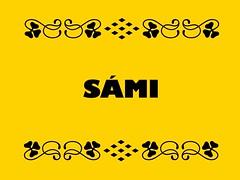Buzzword Bingo: Sami