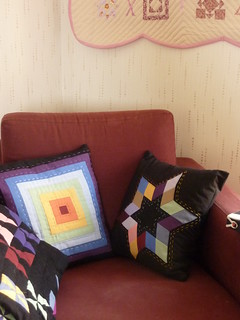 "New cushions for ""my corner"""