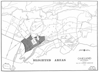 Blighted Areas, Oakland, California (1949)
