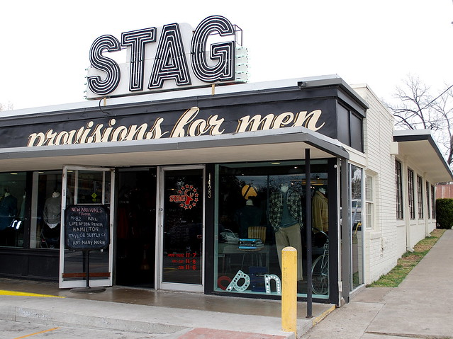 Stag clothing store