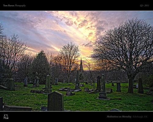trees sunset sun church cemetery graveyard edinburgh spire gravestones hdr dalry mortality dalrycemetery tomraven aravenimage q12011
