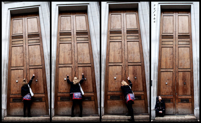 "25/365 - ""Doors don't slam open."""