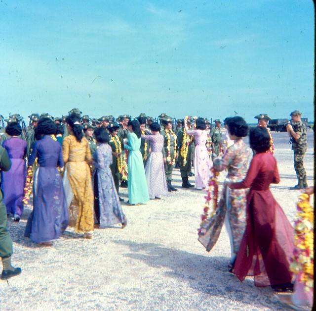 Welcoming ceremony in DaNang