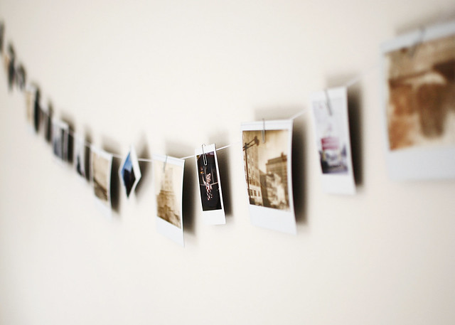 Polaroid Clothesline