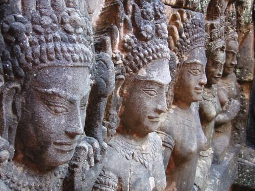 Angkor Thom - Terrace of the Leper King