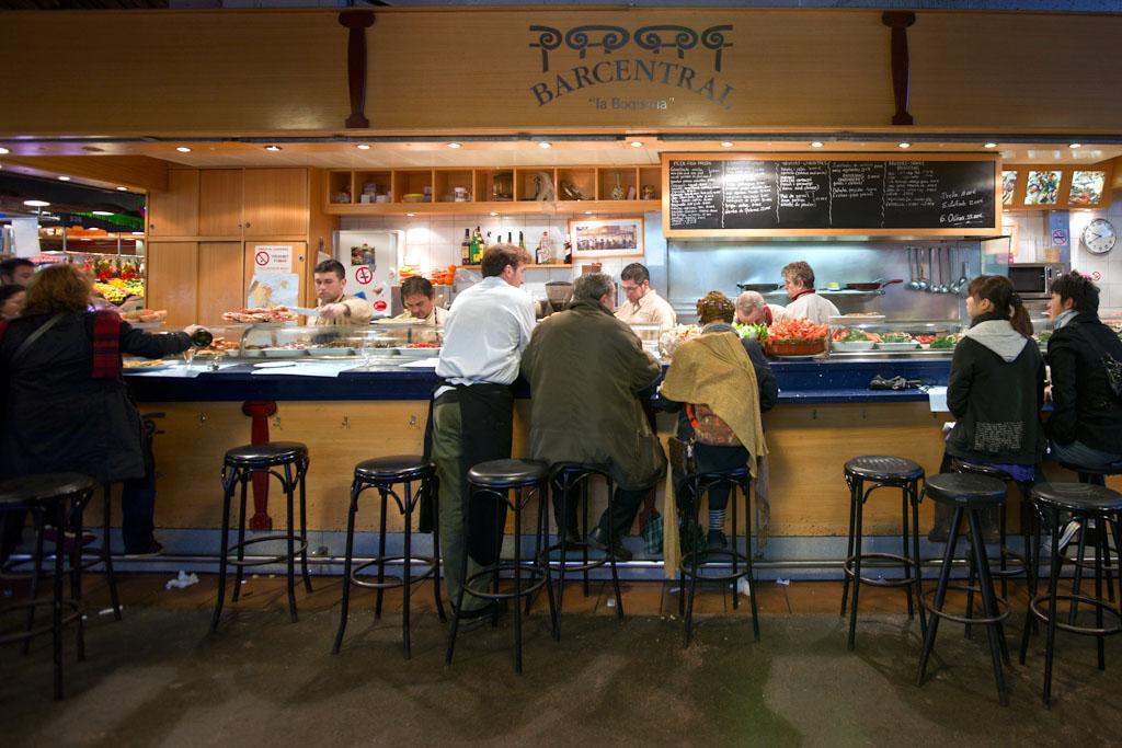 Bar Central @ La Boqueria