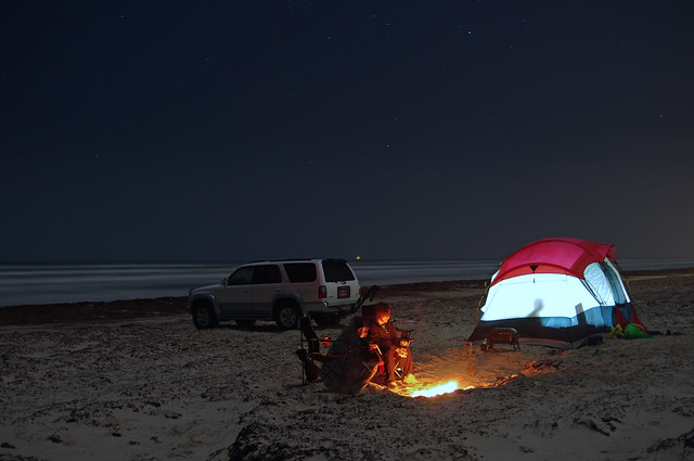 Mustang Island State Park Primitive Camping