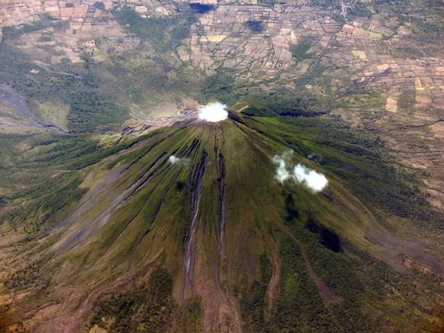 Concepion volcano near Lago de Nicaragua
