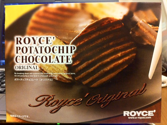 ROYCE' POTATO CHIP CHOCOLATE | Flickr - Photo Sharing!