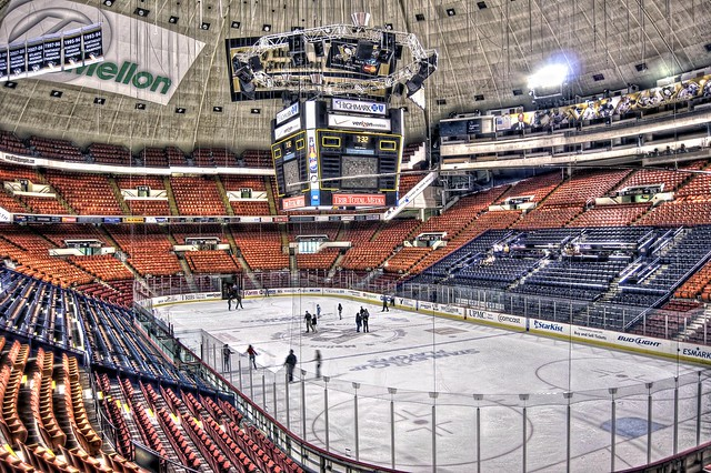 Civic Arena from Section C3 HDR