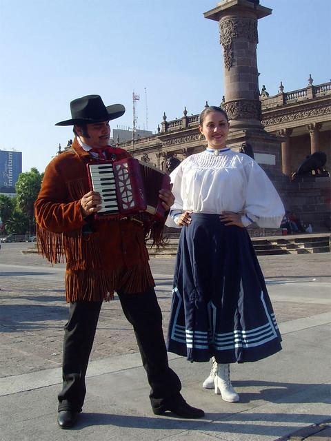 Traje típico de Nuevo León