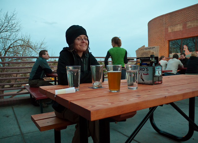 Almost Beer Garden Weather by Zane Selvans on flickr