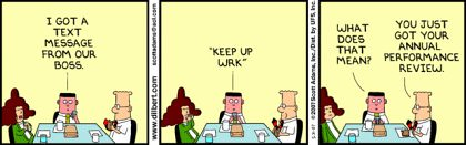 Good old Dilbert cartoon