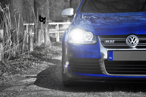 VW Golf MK5 R32 Photoshoot