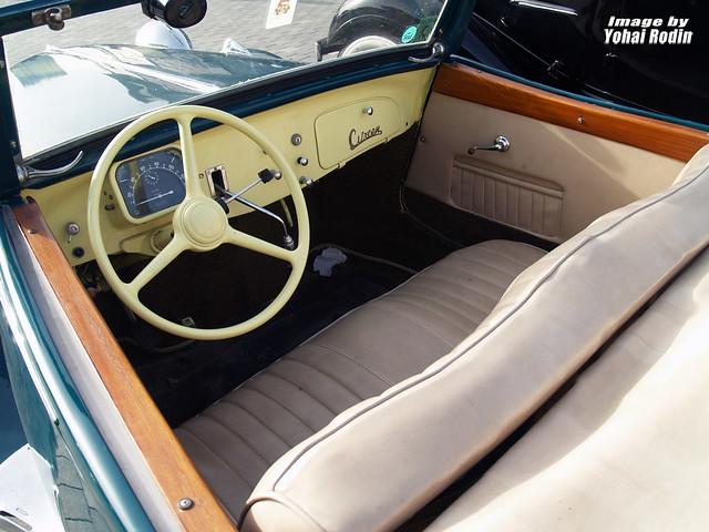 1939 Citroen Traction Avant Cabriolet Interior Flickr Photo Sharing