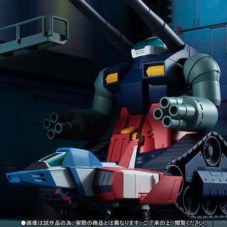 超豪華套餐!【ROBOT魂】 RX-75-4 鋼坦克&白色基地格納庫 ver. A.N.I.M.E.