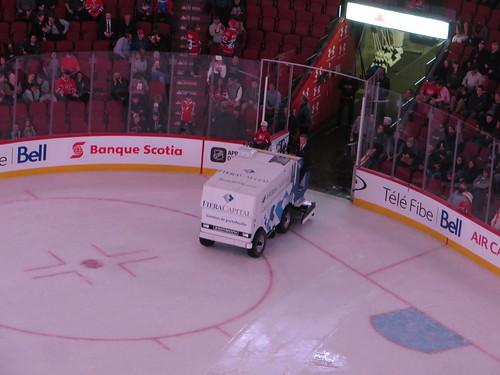 Here Comes the Zamboni, Montreal Canadiens 3, Ottawa Senators 4, Centre Bell, Montreal, Quebec