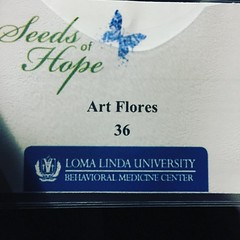 Came to a fundraiser dinner for the Behavior Medicine Center (BMC) at Loma Linda University Hospital with my wife Claire Flores. They are doing doing great things there.
