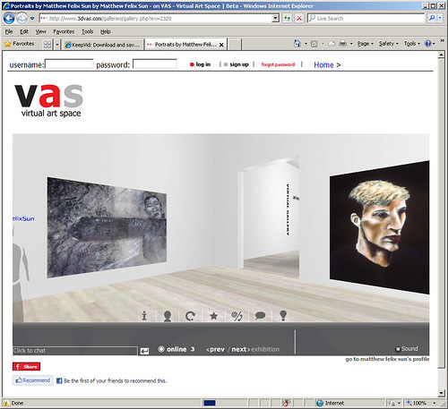 3DVas Portrait Gallery Screenshot
