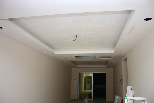 The Workmanship Is Very Neat And Precision There This How My Plaster Ceiling In Living Hall Looks Like From Front Door Overlooking To Balcony