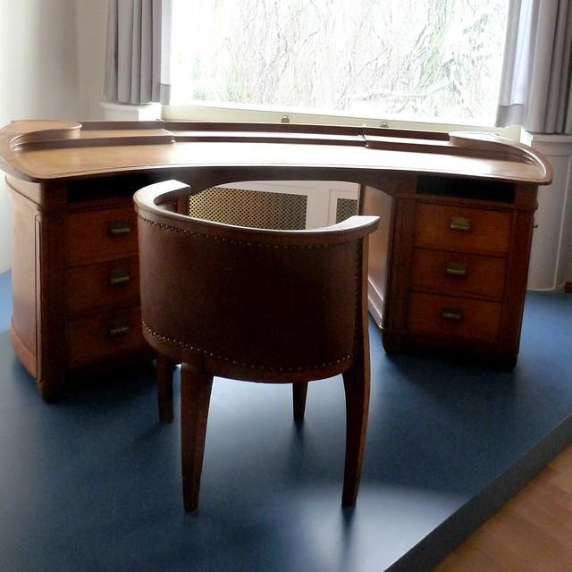 villa esche schreibtisch und stuhl von henry van de velde flickr photo sharing. Black Bedroom Furniture Sets. Home Design Ideas