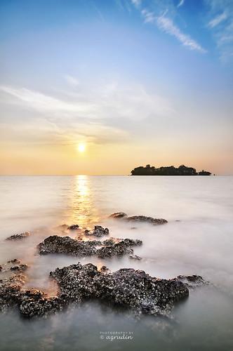 sunset sky panorama cloud water nikon slow tokina1224 dri scapes exposures longexposures d90 bw110 azrudin