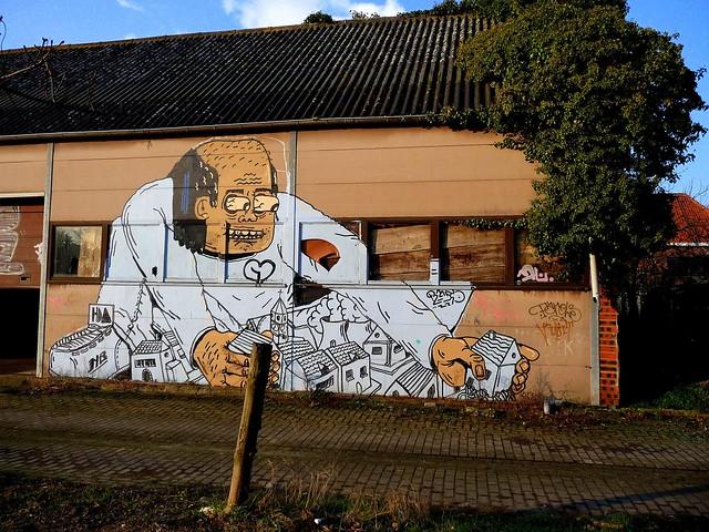 mural | resto | doel . belgium