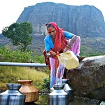 At the well in Maharashtra 2