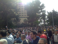 People Heading to Tahrir Square