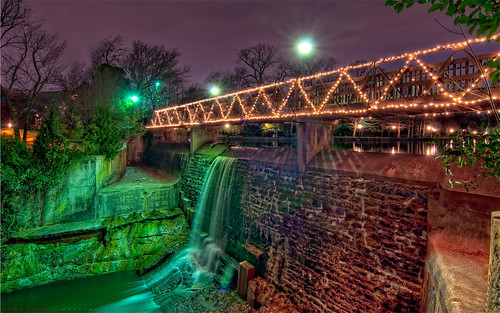 park creek landscape waterfall dallas nikon texas turtle highland hdr d90