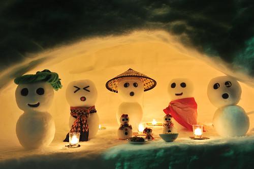 2011白峰雪だるままつり
