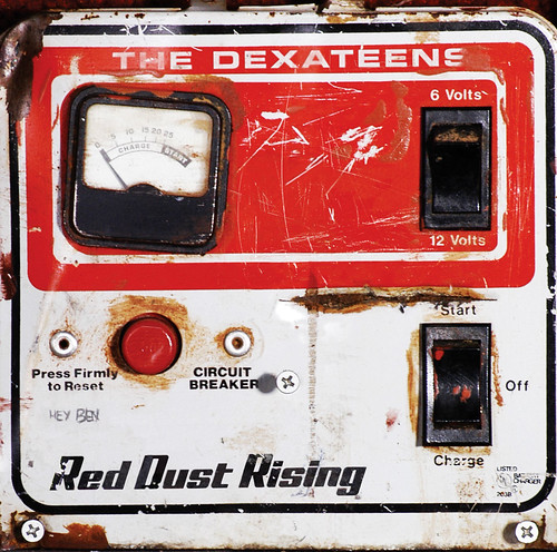 Dexateens - Red Dust Rising - LP Front (2005) by Jason Willis