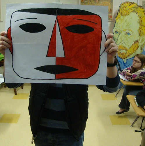 Masks, Magnet fine arts survey by trudeau