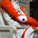 Giant Stitched Squid – staring eye