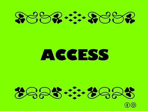 Buzzword Bingo: Access