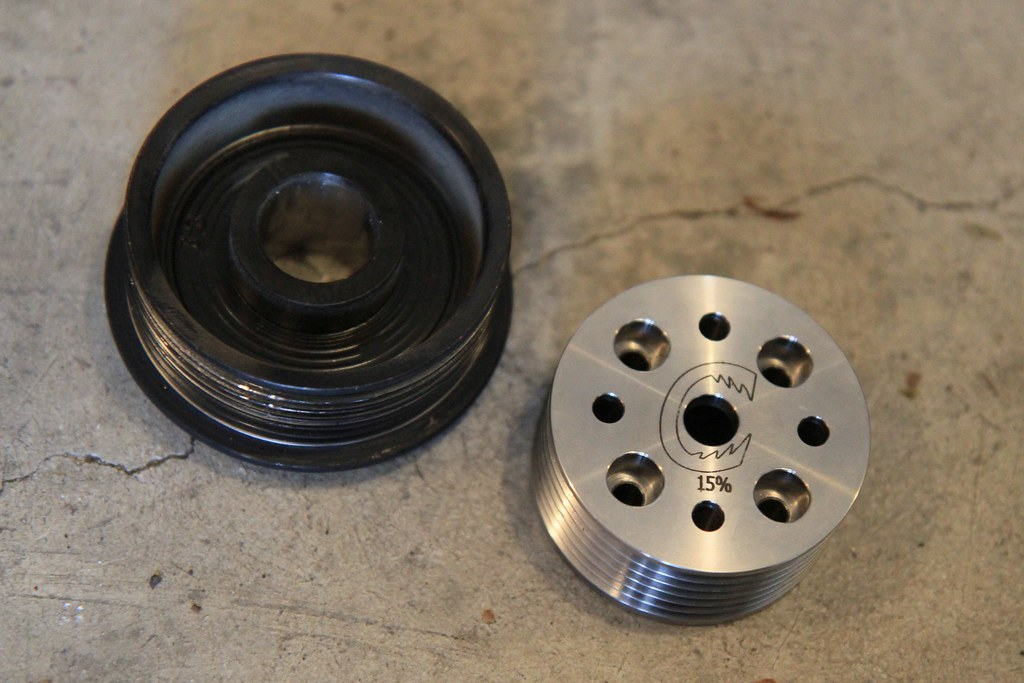 MINI Pulley Party II - 09 | Supercharger pulley comparison