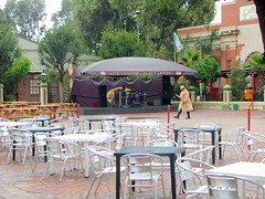 Gold Reef City's Town Square