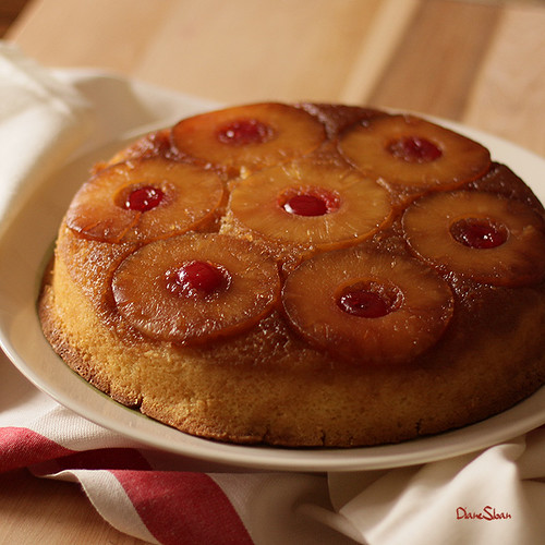 Made With Crushed Pineapple Cake: DUNCAN HINES PINEAPPLE UPSIDE DOWN CAKE
