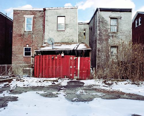 red snow 120 mamiya film mediumformat pittsburgh dish kodak pennsylvania satellite shed chemistry pros 6x7 february portra 800 lawrenceville rb67 c41 2011 160nc unicolor 90f newtopographics
