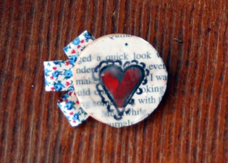 Brooch Swap and Giveaway